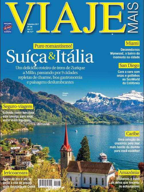 Edição 196 (Setembro de 2017) da Revista Viaje Mais