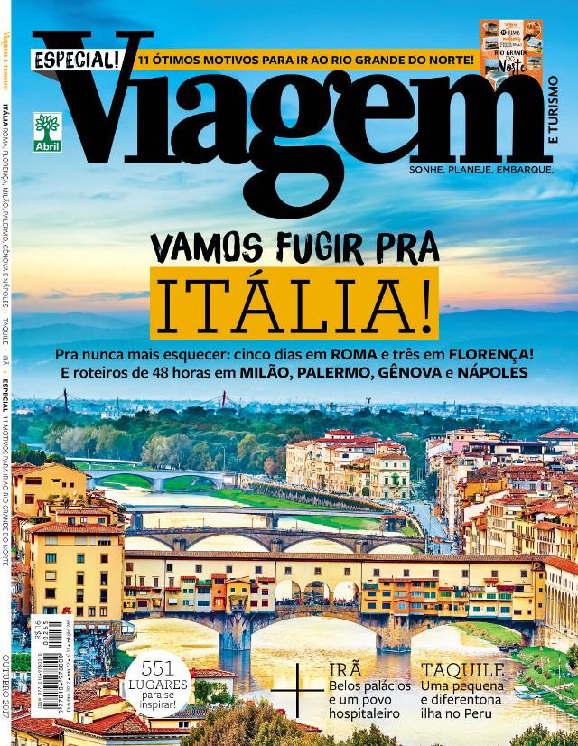 Capa da Viagem e Turismo - Outubro de 2017