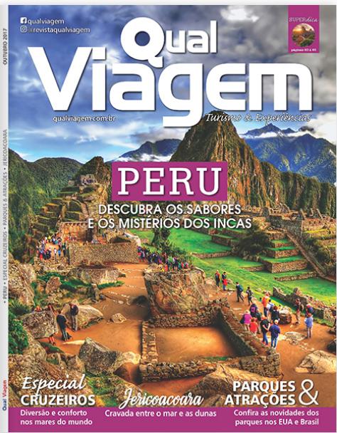 Revista Qual Viagem - Outubro de 2017.