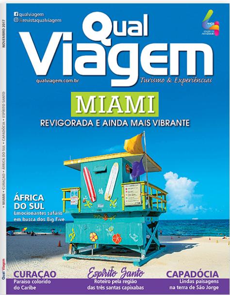 Revista Qual Viagem - Novembro de 2017.