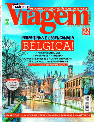 Edição 266 (Novembro de 2017) da Revista Viagem e Turismo - Bélgica